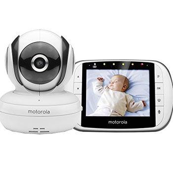 Vigilabebés con Cámara Nocturna Motorola MBP 36SC
