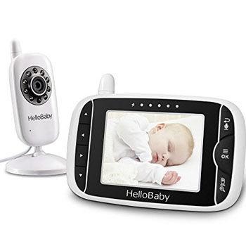 camara para vigilar bebes wifi HelloBaby HB32