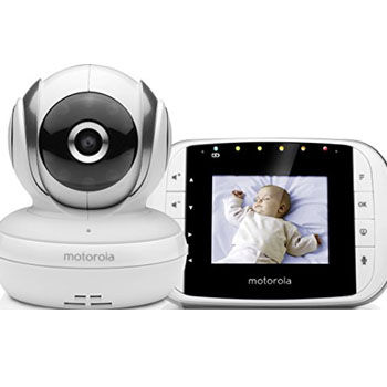 Cámara de Vigilancia para Bebés Motorola MBP 33S