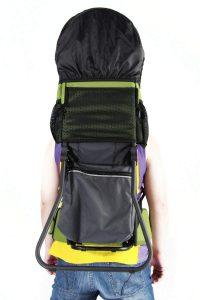 mochila portabebes de senderismo