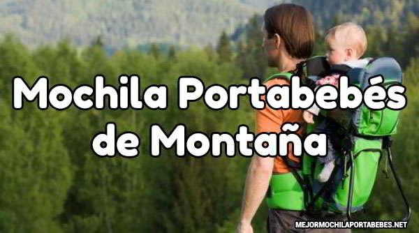 Portabebés de Montaña
