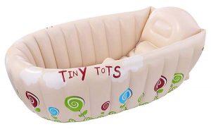 Cuál es la mejor bañera para bebés inflable