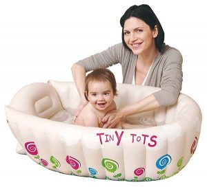 Las mejores bañeras inflables para bebés