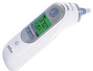 termometro oido digital braun