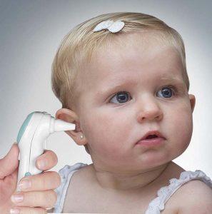 utilizar termometro oido