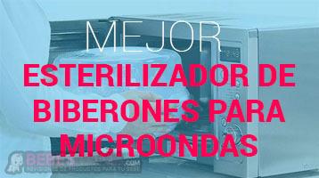 Esterilizador de Biberón para Microondas