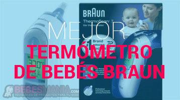Termómetro de Bebés Braun